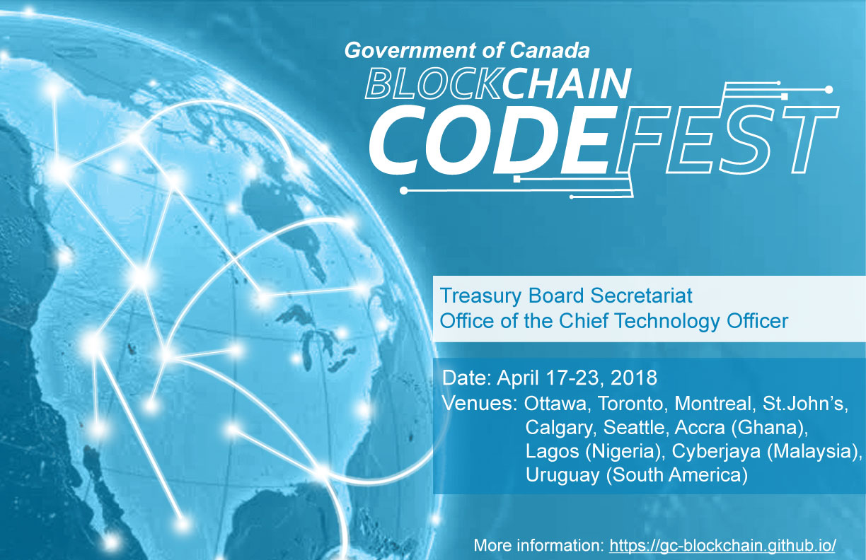 GC Blockchain Codefest Banner